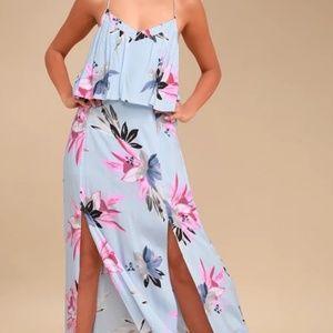 NWT O'Neill Milly Maxi dress